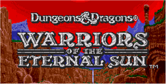 Dungeons & Dragons Warriors Of The Eternalsun