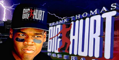 Frank Thomas Big Hurt Baseball (Saturn)