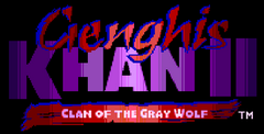 Genghis Khan 2: Clan Of The Gray Wolf Free Download