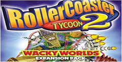 RollerCoaster Tycoon 2 & Wacky Worlds Pack