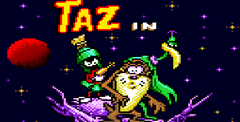 Taz in Escape from Mars (gamegear)