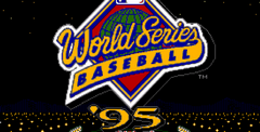 World Series Baseball 95
