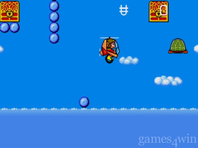 Alex Kidd in the Enchanted Castle 1