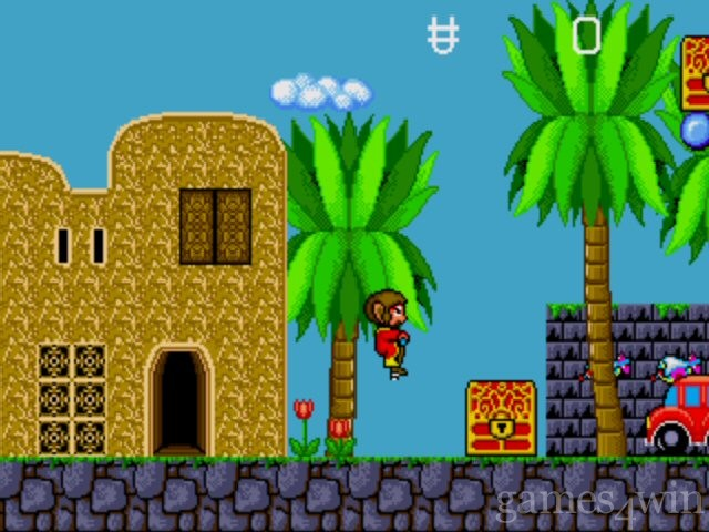 Alex Kidd in the Enchanted Castle 2