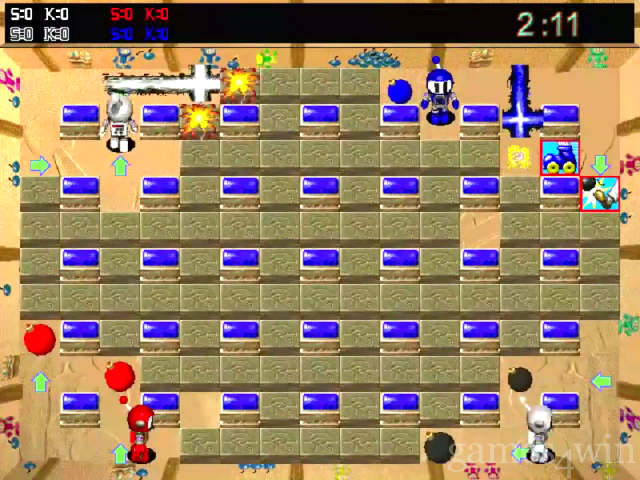 Download & Play game Bomberman Nitendo nes on pc - YouTube