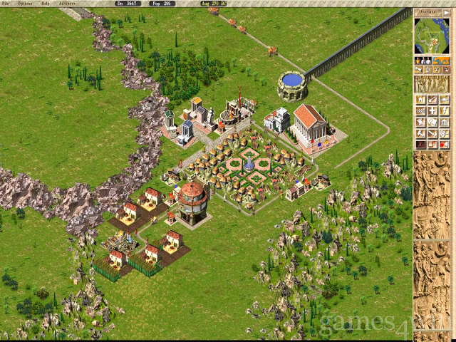 Caesar III Free Download full game for PC, review and system