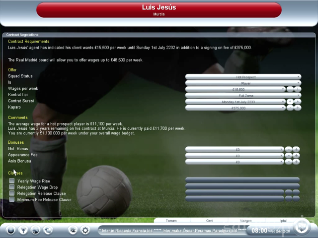 Championship Manager 2008 Free Download full game for PC