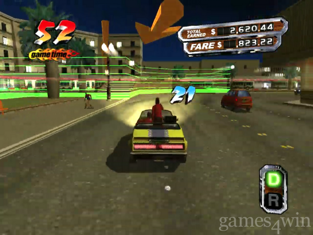 Crazy Taxi 3: High Roller Free Download full game for PC