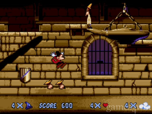 Mickey Mouse - Fantasia Download - Games4Win