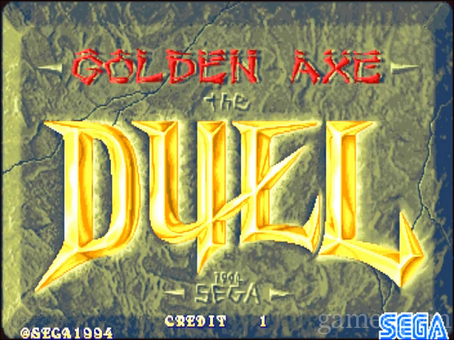 Golden Axe: the Duel 1