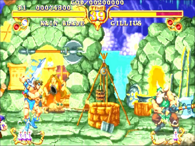 Golden Axe: the Duel 8