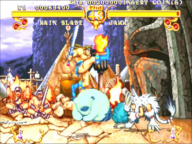 Golden Axe: the Duel 9