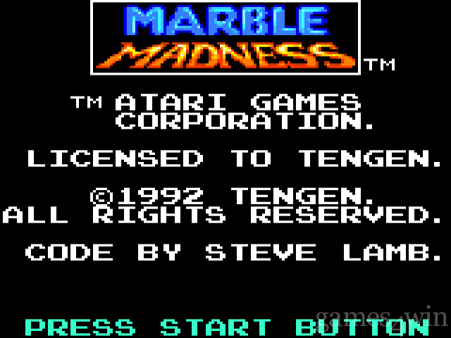Marble Madness (gamegear) 1