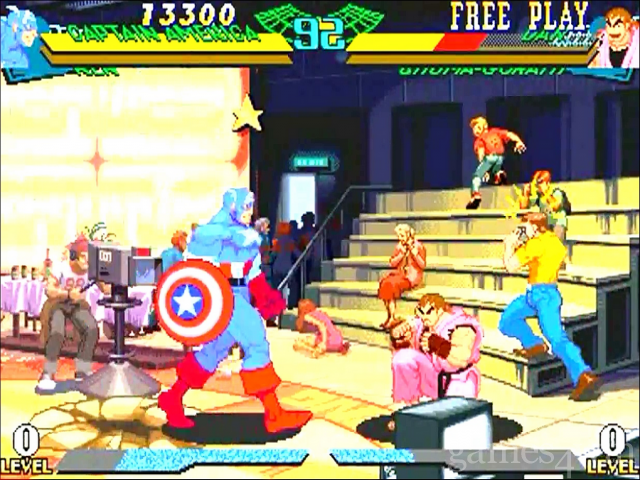 Marvel Super Heroes vs Street Fighter Free Download full