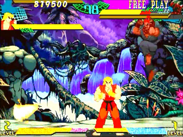 Marvel Super Heroes vs Street Fighter Free Download full game for PC