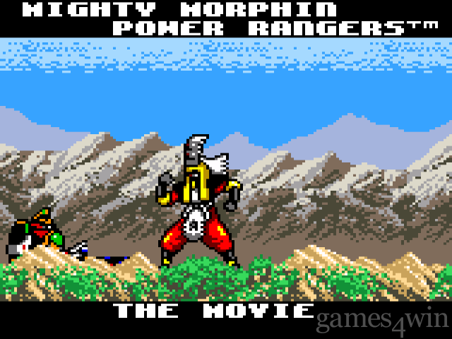 Mighty Morphin Power Rangers - The Movie 10