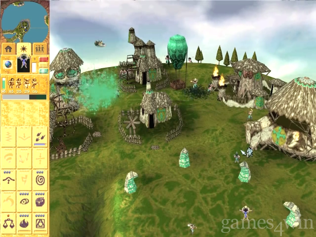 Populous Free Download full game for PC, review and system