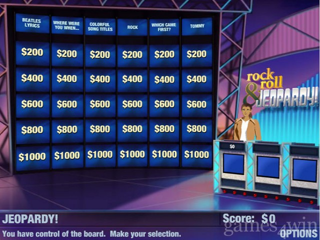 Rock & Roll JEOPARDY! Free Download full game for PC, review