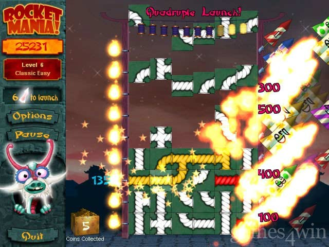 Rocket Mania! Deluxe Free Download full game for PC, review and