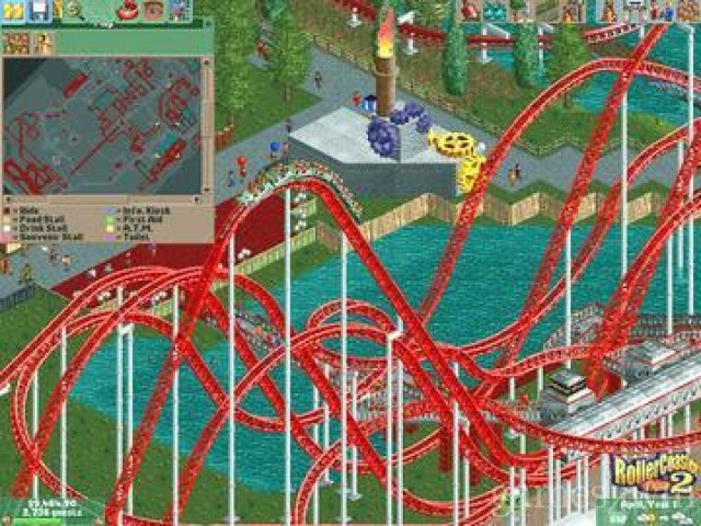 RollerCoaster Tycoon 2 & Wacky Worlds Pack Free Download full game