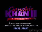 Genghis Khan 2: Clan Of The Gray Wolf 1