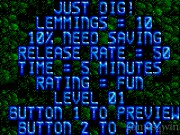 Lemmings (gamegear) 3