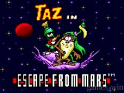 Taz In Escape From  Mars 4