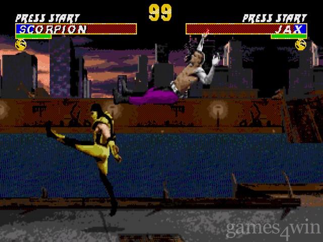 Ultimate Mortal Kombat 3 Free Download full game for PC