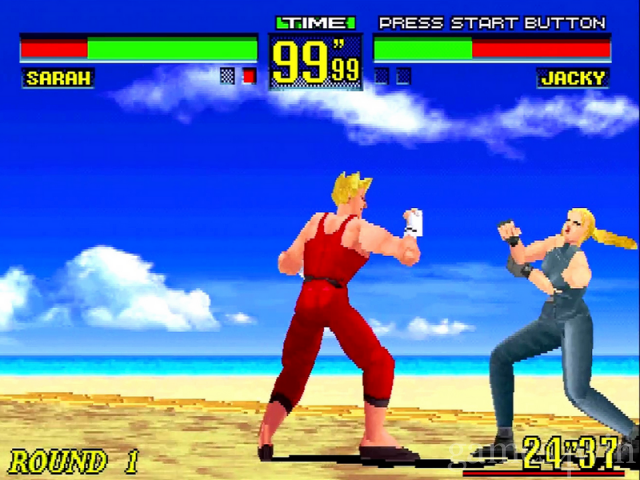 Virtua Fighter Remix Free Download full game for PC, review and