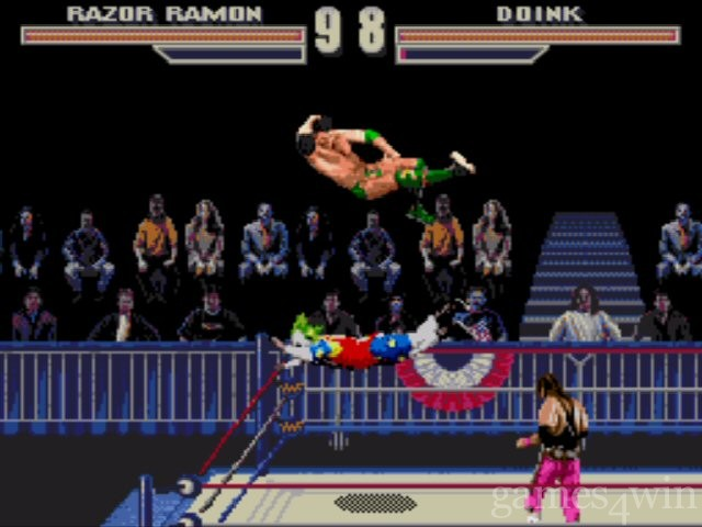 WWF Wrestlemania Arcade Game 3