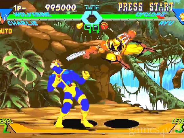 X-Men v s  Street Fighter Free Download full game for PC